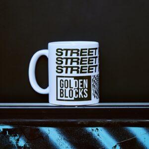 Mug en céramique Golden Blocks